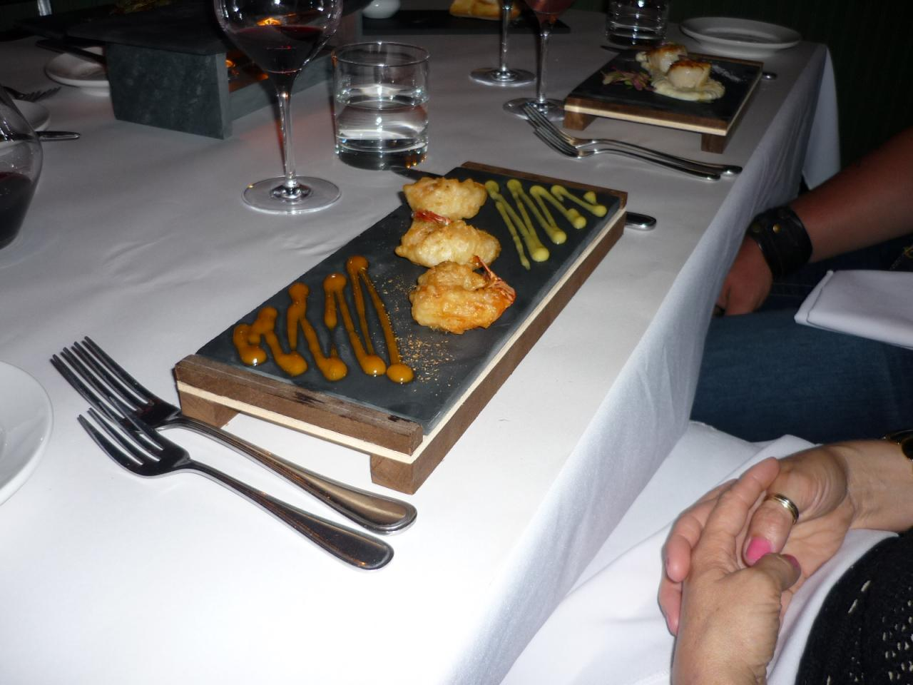 assiette ardoise rectangulaire